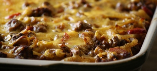 Try This Simple And Quick Cheeseburger Casserole Recipe Print