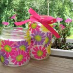 Decoupage Jars 006