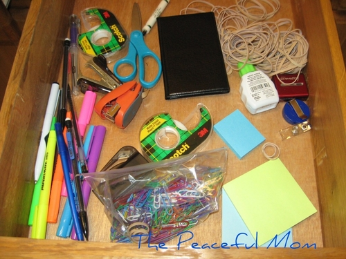Save Money Cheap Drawer Organizers The Peaceful Mom
