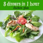 8 Dinners in 1 Hour!