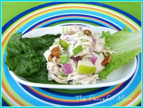 Crunchy Chic Salad 1 framed TPM
