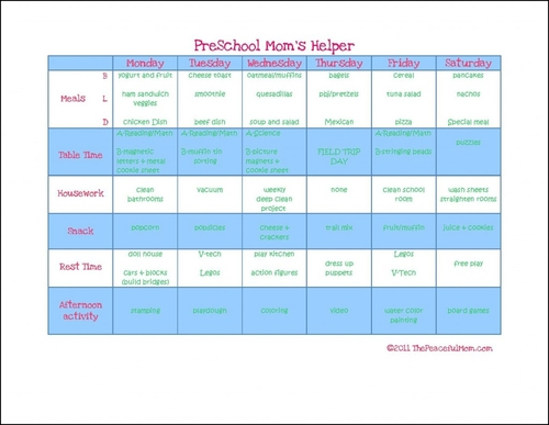 photograph regarding Printable Homeschool Planners called Printable Homeschool Planners - The Comfortable Mother
