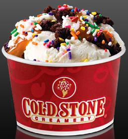 Cold Stone Cake Coupon