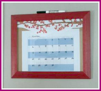 Framed-Monthly-Calendar-Thin-border1