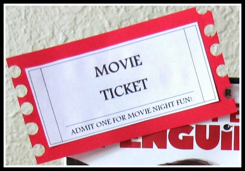 Print This FREE Printable Movie Ticket ...  Free Printable Movie Ticket Template