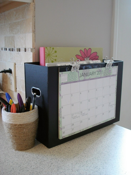 Get Organized: Paper Clutter Solutions - The Peaceful Mom