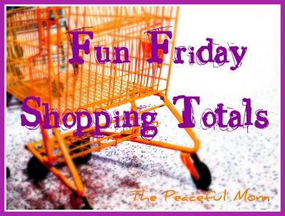 Fun Friday Shopping Totals {+ Grocery Saving Tips!} 12/28