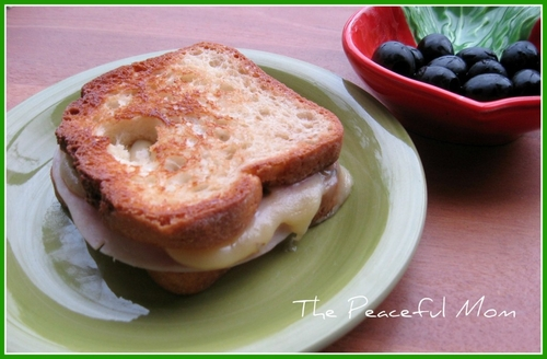 GF Turkey Pepper Jack Grilled Cheese