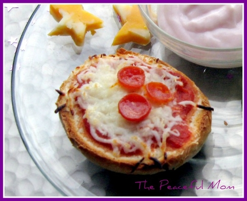 Pizza-Bagel