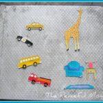 DIY Kids Magnet Play Set