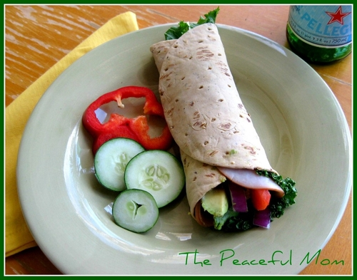 Turkey Avocado Wrap 2 TPM