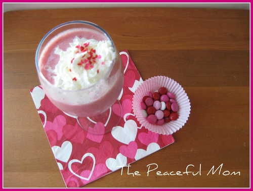 Valentine Breakfast Smoothie