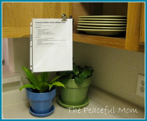 Tuesday Organize Tip Diy Magnet Recipe Holder The