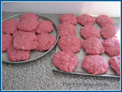 Ground Beef Patties TPM