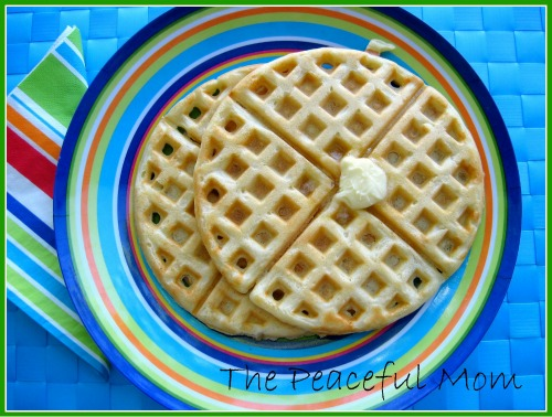Homemade Freezer Waffle Batter Recipe The Peaceful Mom