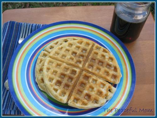 Easy DIY Waffle Syrup!