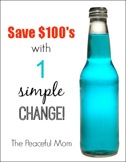 Save Hundreds With One Simple Change - The Peaceful Mom