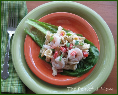 Simple Shrimp Campanelle Salad Recipe