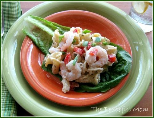 Shrimp Campanelle Salad Recipe