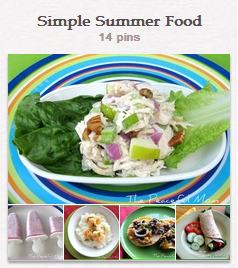 Simple Summer Food Board