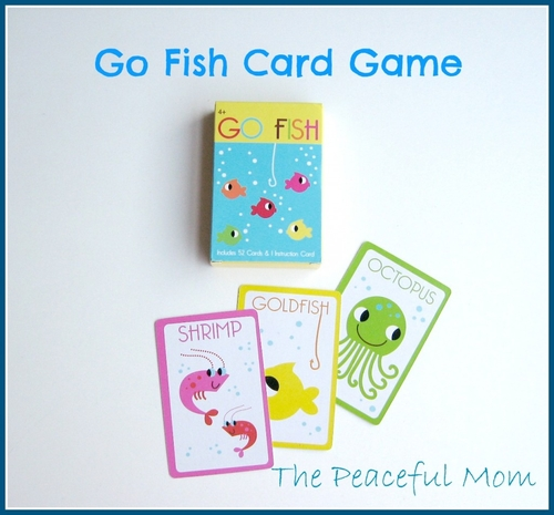 Road trip activity bag 5 ocean theme the peaceful mom for Go fish cards
