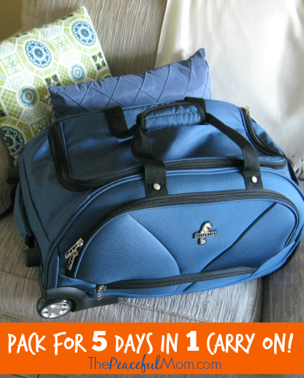 6. Maximize your personal item. In addition to a carry-on bag, airlines allow you to bring a personal item such as a purse or laptop bag.