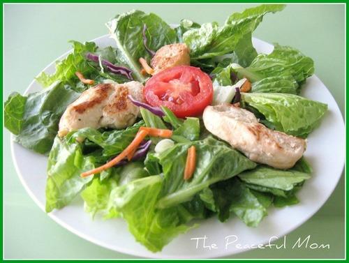 Salad & Italian Chicken