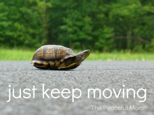 Image result for just keep moving