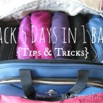 Pack 5 Days in 1 Bag!