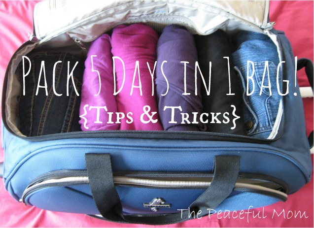 Packing tips how to pack 5 days of clothes in one carry How to pack a carry on suitcase video