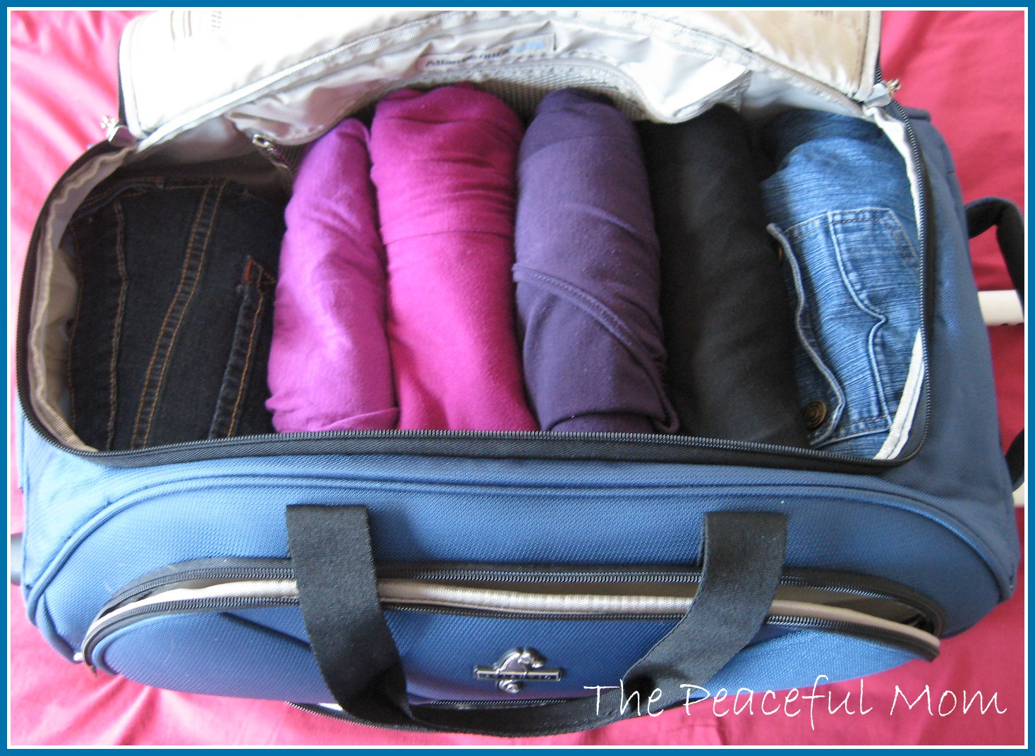 Ng Tips How To Pack 5 Days Of Clothes In One Carry On Bag The Peaceful Mom