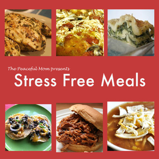 Stress Free Meals Cover