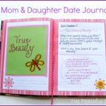 DIY Mom & Daughter Date Journal