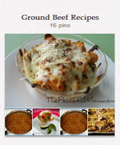 Ground Beef Recipes Board