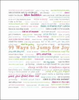 99 ways to jump for joy photo--270