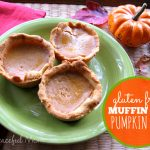 Gluten Free Muffin Tin Pumpkin Pies - The Peaceful Mom