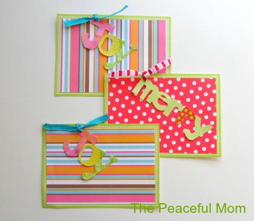 Handmade Christmas Card Upcycle
