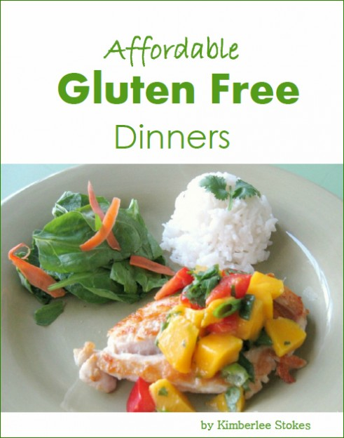 Affordable Gluten Free Dinners Cover