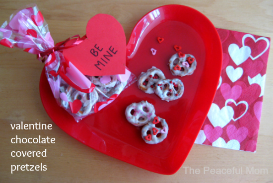 Unique Valentines Chocolate Covered Pretzels The Peaceful Mom