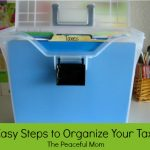 3 Easy Steps to Organize Your Taxes