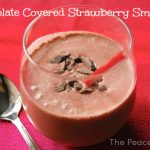 Chocolate Covered Strawberry Smoothie*
