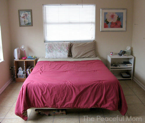You. Making Our House A Home  A Room Makeover pt  3   The Peaceful Mom