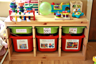 Colleen Shared Her Creative Toy Storage ...