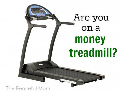 On a Money Treadmill?