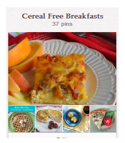Cereal Free Pin Board