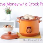 Save Money W/ Your Crockpot
