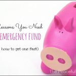 How to Get A Emergency Fund Fast