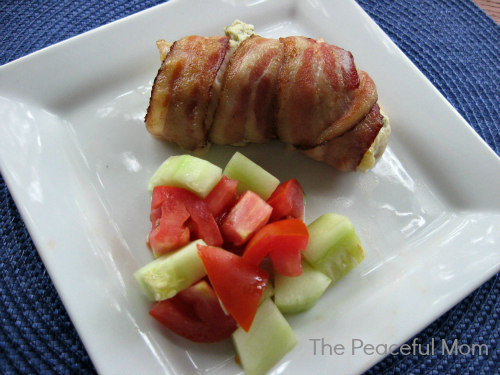 Bacon Wrapped Chicken--The Peaceful Mom