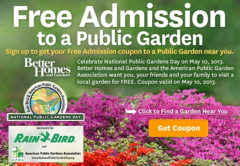 Freebies Garden Admission Craft Classes Mio Sample And