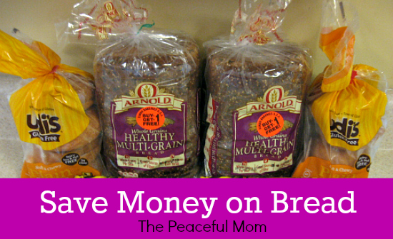 Save Money On Bread--The Peaceful Mom